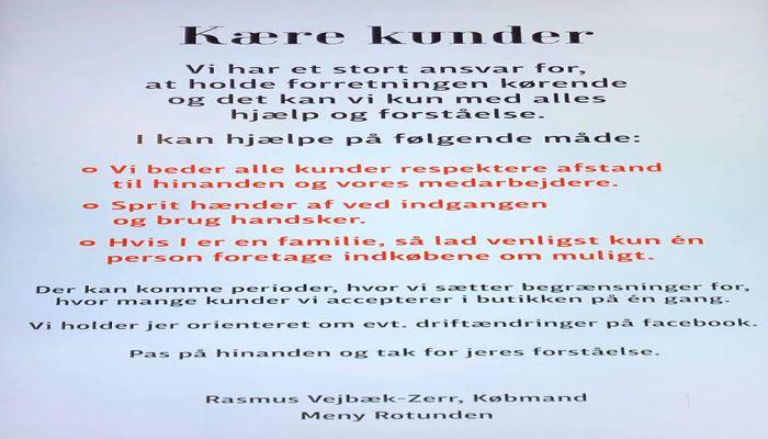 Danimarkada bir mağazadan panikaya əla reaksiya!
