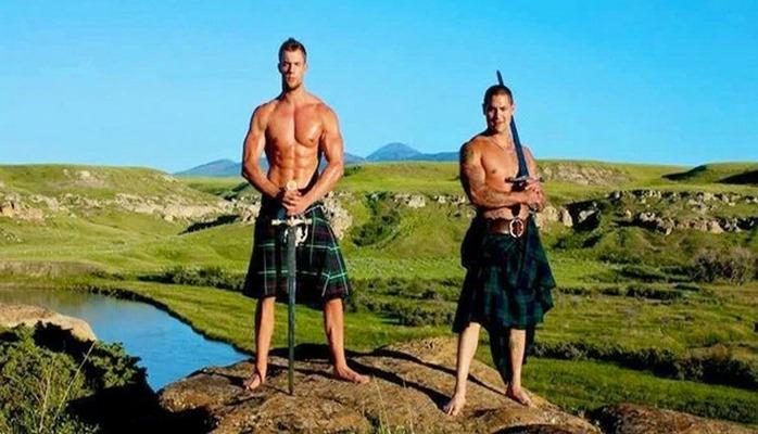 Nə üçün Şotlandiyada kişilər yubka geyinir?