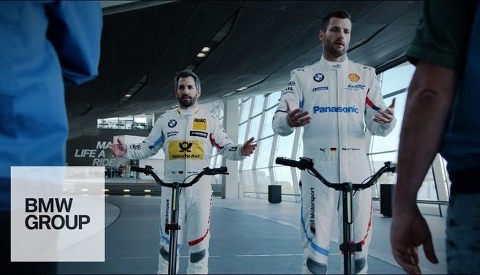 BMW Yeni Bir Fabrika İçi Ulaşım Aracı Geliştirdi