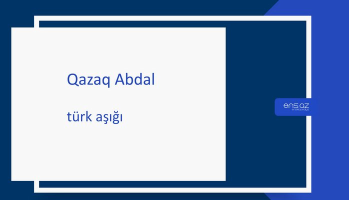 Qazaq Abdal