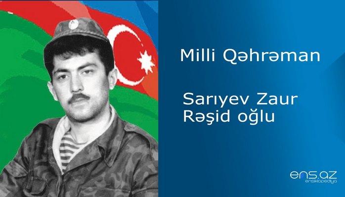 Zaur Sarıyev Rəşid oğlu