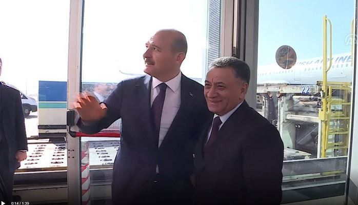Ramil Usubov Türkiyədə səfərdədir