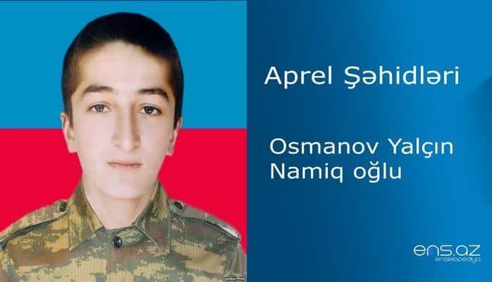 Yalçın Osmanov Namiq oğlu