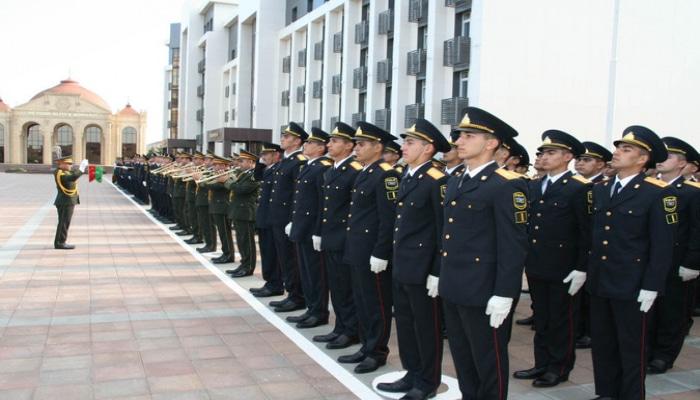 Polis Akademiyasında andiçmə mərasimi keçirilib
