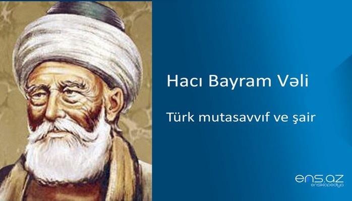 Hacı Bayram Vəli