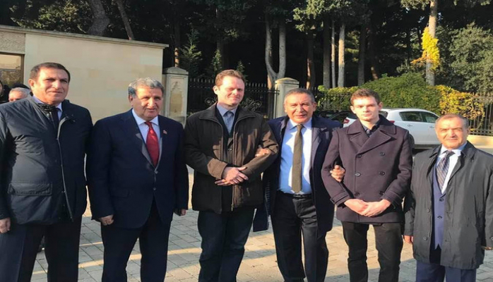 Потомки Джалила Мамедгулузаде впервые посетили Азербайджан