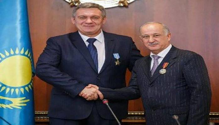 Prezident Nursultan Nazarbayev həmyerlilərimizi orden və medallarla təltif edib