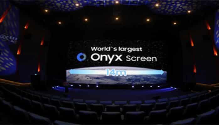"""""""Samsung"""" kinoteatrlar üçün dünyanın ən böyük """"LED"""" ekranını təqdim edib"""