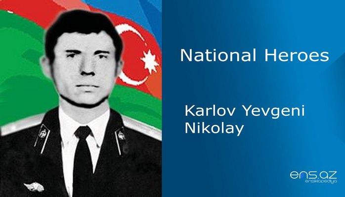 Karlov Yevgeni Nikolay