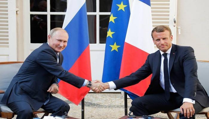 Makron Putinlə danışıqlarının detallarını açıqladı