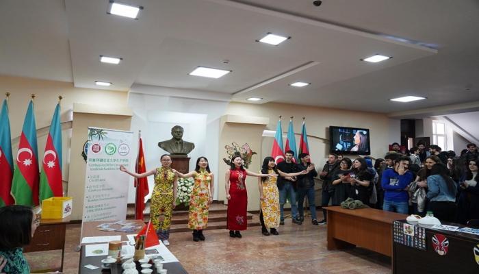 В Азербайджанском университете языков прошел День китайского языка