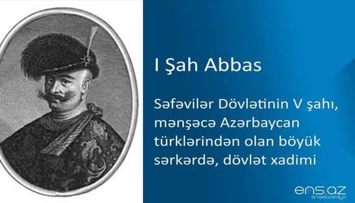 I Şah Abbas
