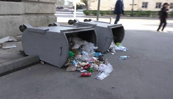 Главное управление полиции: Пикет в центре Баку сопровождался массовыми правонарушениями
