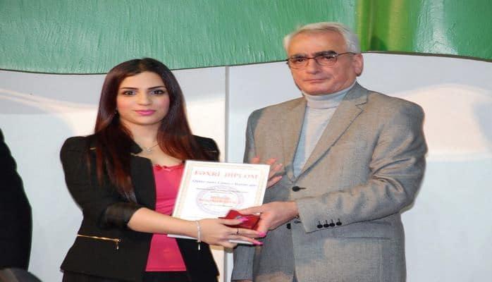 Историк Ламия Гафар-заде удостоена звания «Молодой  профессионал года»