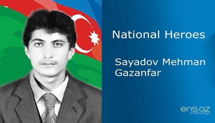 Sayadov Mehman Gazanfar