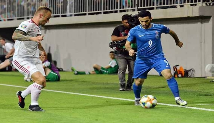 Нападающий сборной Азербайджана: На матче с Венгрией надеемся на хороший результат
