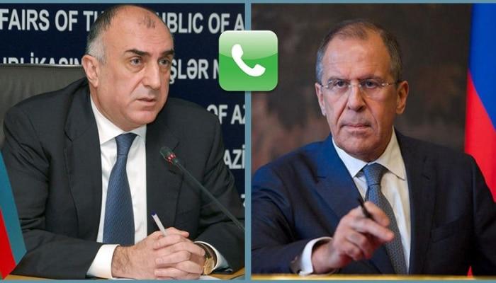Главы МИД Азербайджана и России обсудили борьбу с коронавирусом