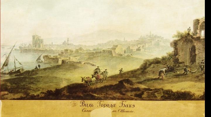 О «Договоре» 1803 года между Россией и Бакинским ханством