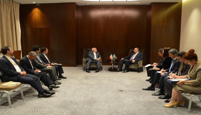 Состоялась встреча глав МИД Азербайджана и Ирана