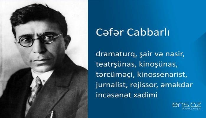 Cəfər Cabbarlı