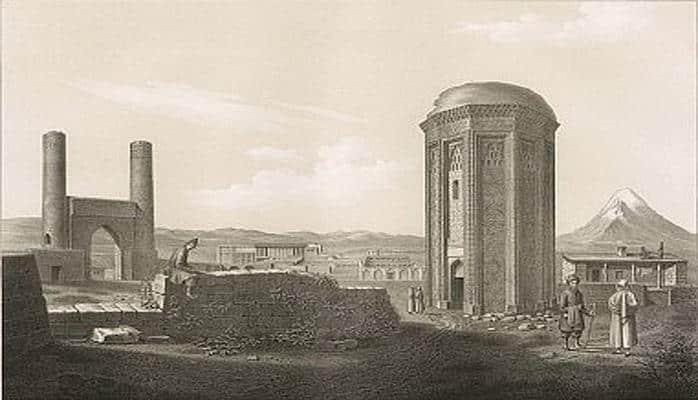 Азербайджан и Эривань 1833-1834 годов в зарисовках Дюбуа де Монпере (ФОТО)