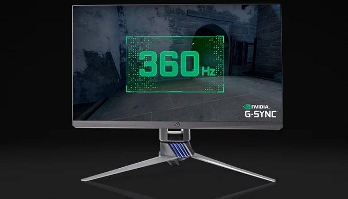 Asus, Dünyanın İlk 360 Hz Oyuncu Monitörü ROG Swift 360Hz'i Duyurdu