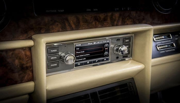 Jaguar Land Rover wants to sell you infotainment for your classic car