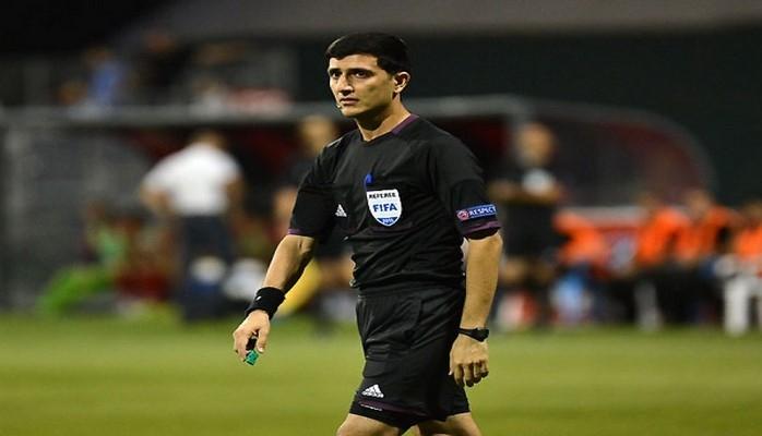 AFFA təmsilçisi UEFA tərəfindən beynəlxalq oyuna təyinat alıb