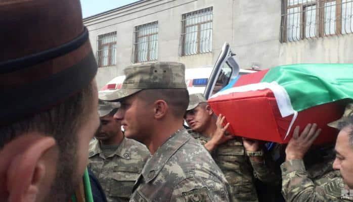 Azərbaycan Ordusunun əsgəri dəfn olunub