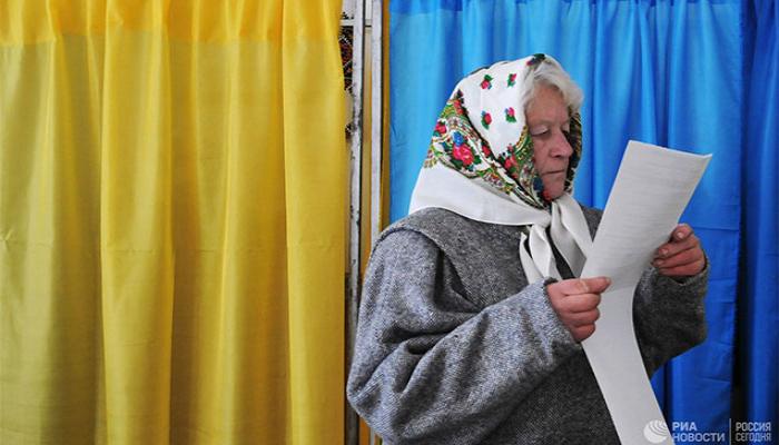 Ukraynada seçicilərin 13,61 faizi səs verib