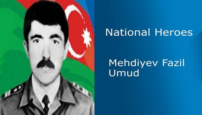 Mehdiyev Fazil Umud