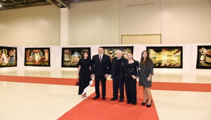 Prezident Tahir Salahovun sərgisində