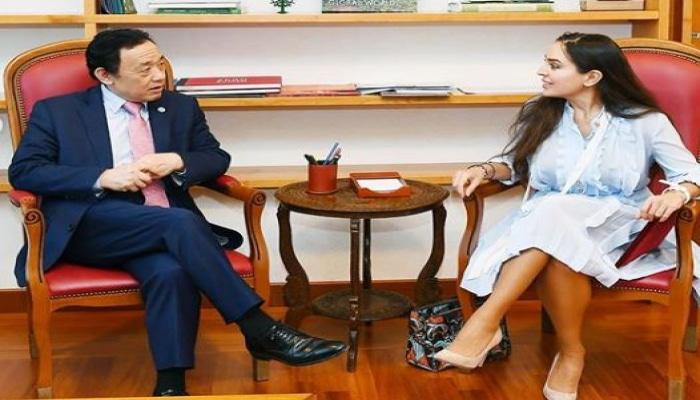 Leyla Əliyeva FAO-nun baş direktoru ilə görüşüb