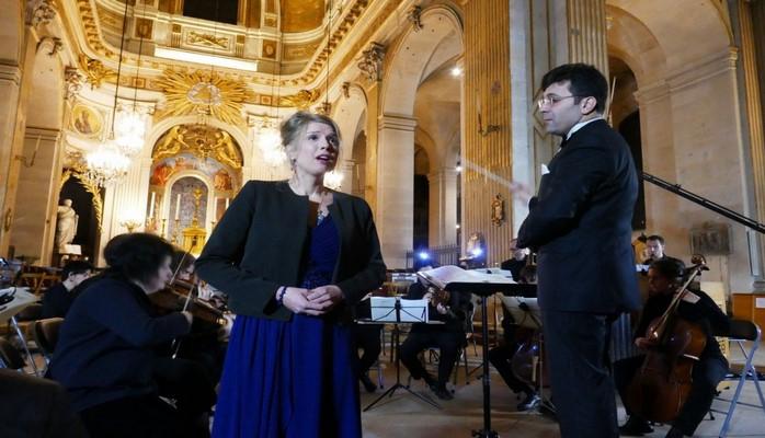 Parisdə azərbaycanlı dirijorun rəhbərliyi ilə konsert təşkil edilib