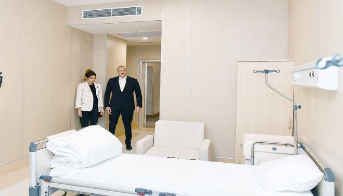 """İlham Əliyev """"Yeni klinika"""" tibb müəssisəsinin açılışında iştirak edib"""