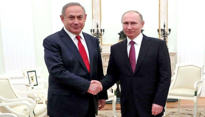 Putin və Netanyahu Suriyanı müzakirə etdi
