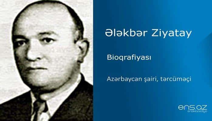 Ələkbər Ziyatay