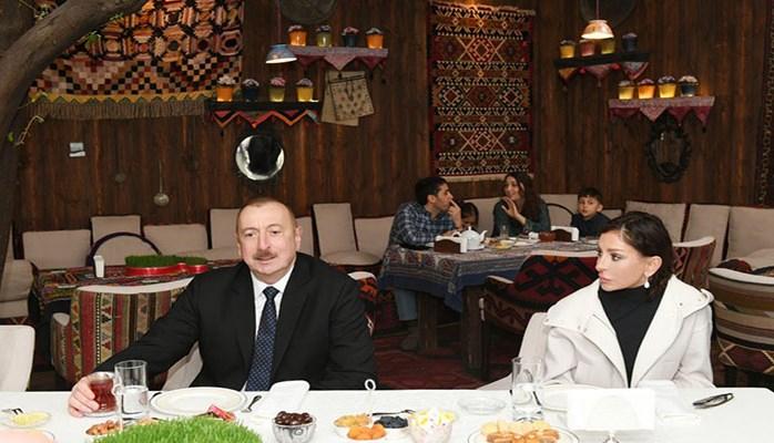 """""""Adam buraya gələndə getmək istəmir"""" - Prezident İçərişəhərdə"""