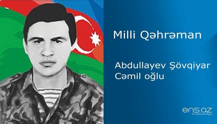 Şövqiyar Abdullayev Cəmil oğlu