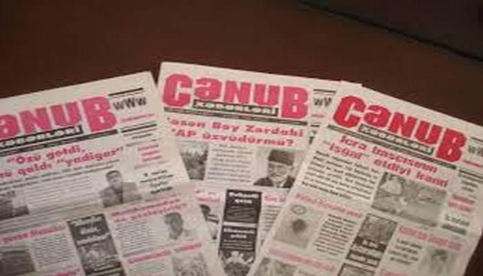 """""""Cənub xəbərləri"""" cənubun aynasıdır"""