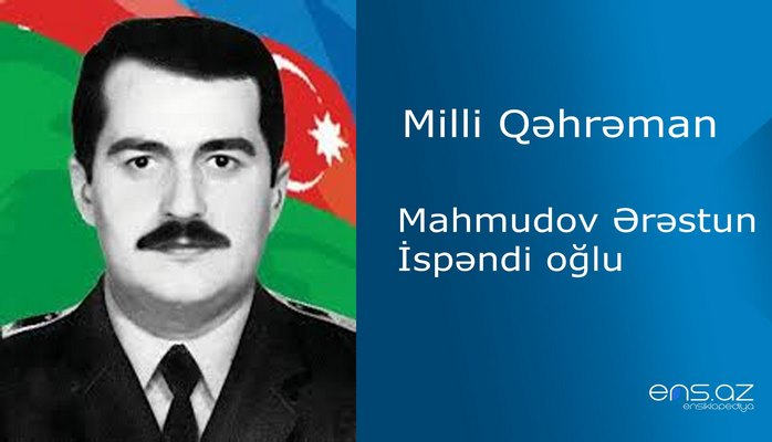 Mahmudov Ərəstun İspəndi oğlu