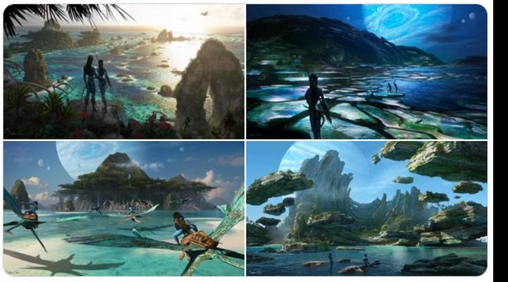 """""""Avatar 2"""" filminin görüntüləri yayıldı"""