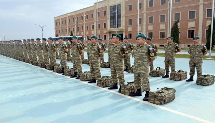 Azərbaycan sülhməramlılarının bir qrupu Əfqanıstana yola salınıb