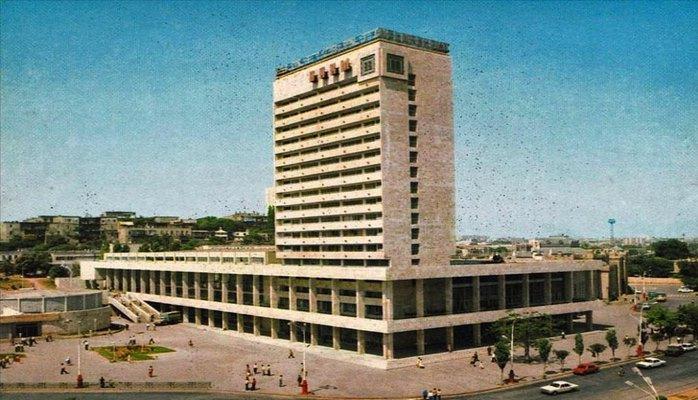 Здание нового вокзала Баку в 1969-1986 гг. (ФОТО)