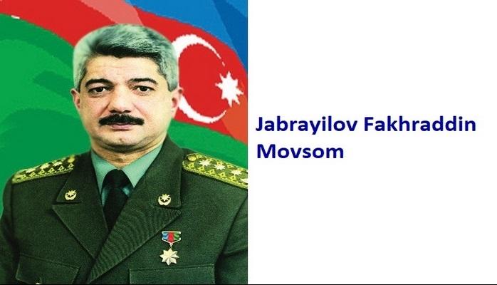 Jabrayilov Fakhraddin Movsum