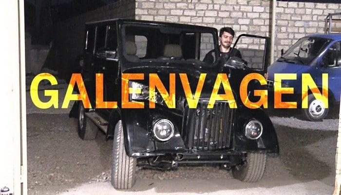 """Gizli Qarajdan Çıxan Rus """"Galenvageni"""" - ÖZƏL GÖRÜNTÜLƏR"""