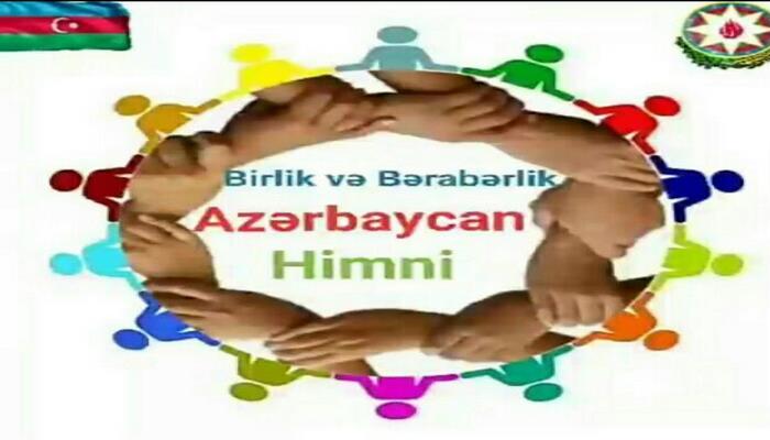 Dünya azərbaycanlıları birlik və bərabərlik himnimizi ifa ediblər