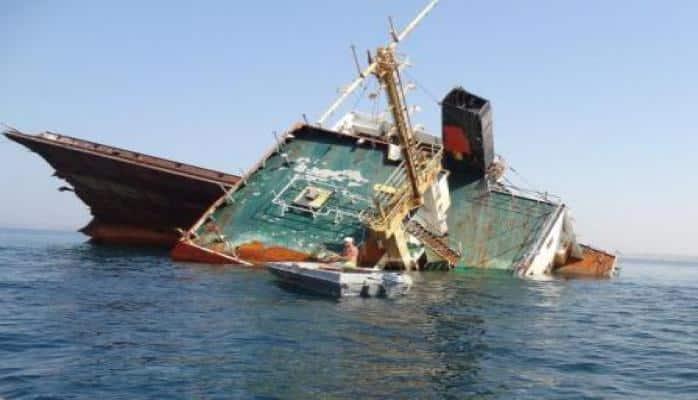 Çanaqqalada 41 metrlik Türkiyə gəmisi batır