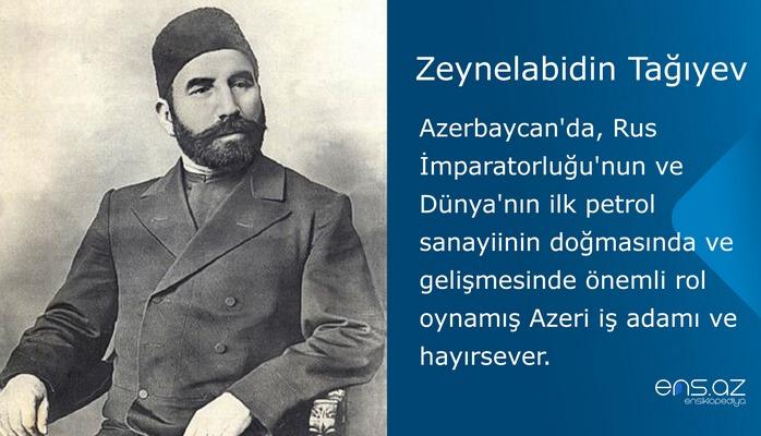 Zeynelabidin Tağıyev