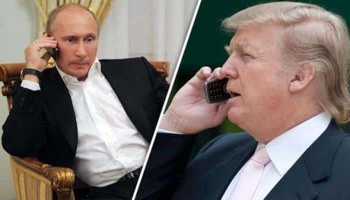 Tramp Putinə zəng etdi: istefa məsələsinin müzakirəsi
